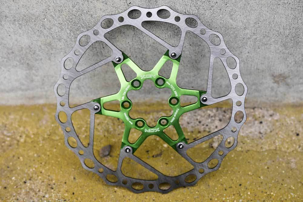 XON 6 Bolts Stainless Disc Brake Pad Rotors  for MTB /& Road Bike 180mm//203mm